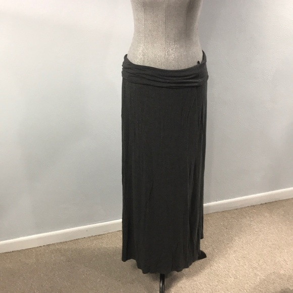 best sneakers Official Website vast selection Charcoal grey Maxi skirt